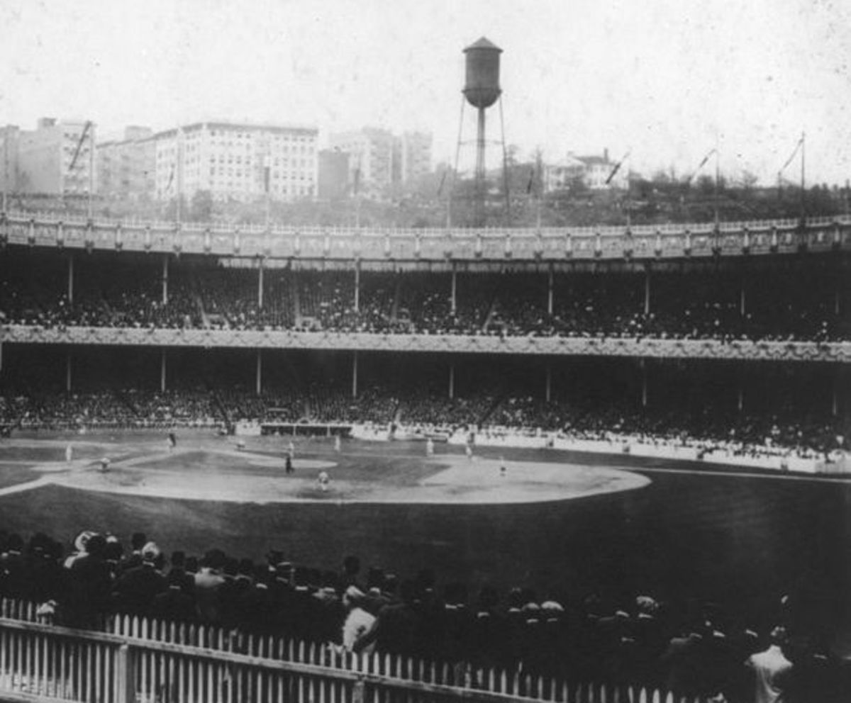 The original Polo Grounds; New York City, NY. 1876-1911