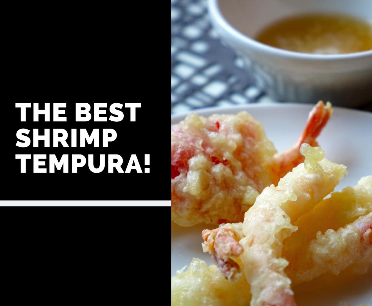 The Secret to the Best Shrimp Tempura