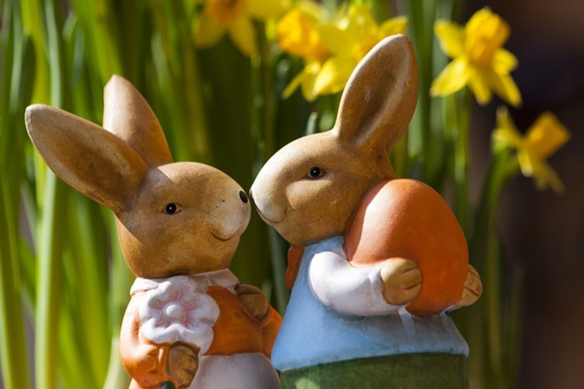 What is Ostara? Or what is Eostre? It's the 'sabbat with the rabbit'!