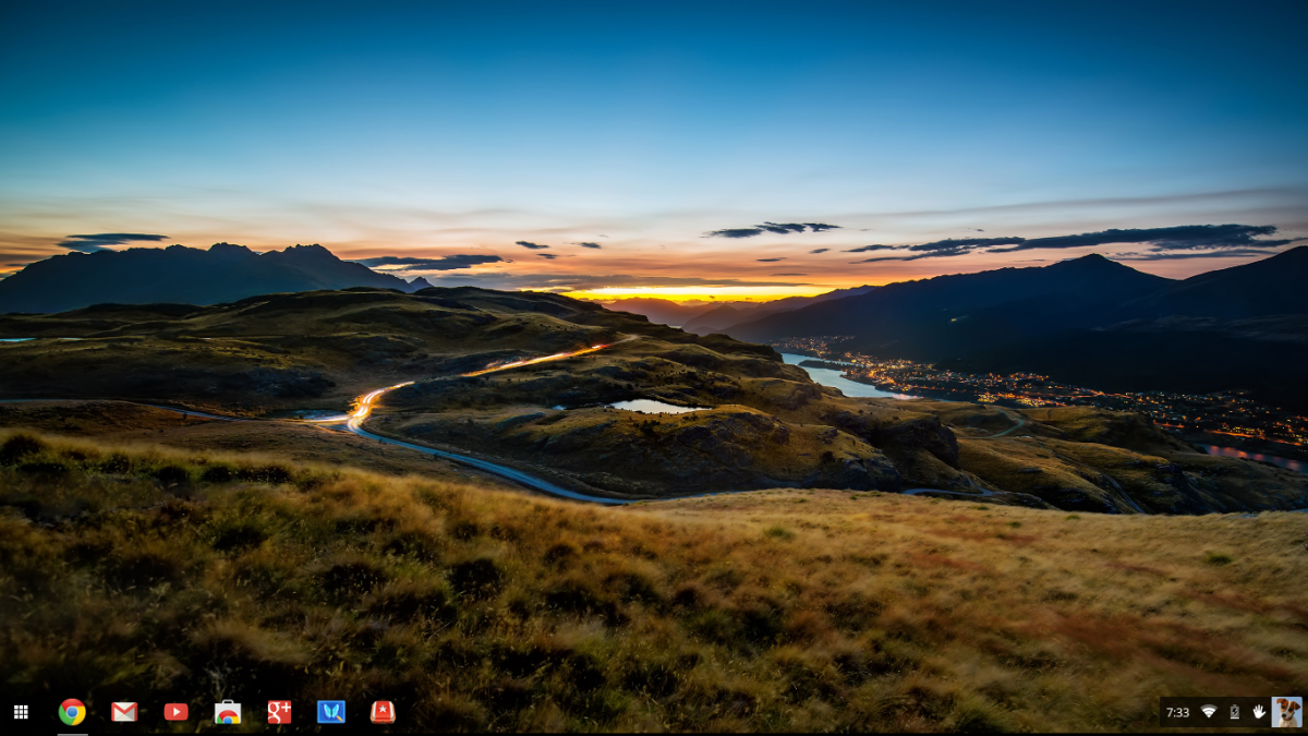 Chromebook Desktop Screenshot