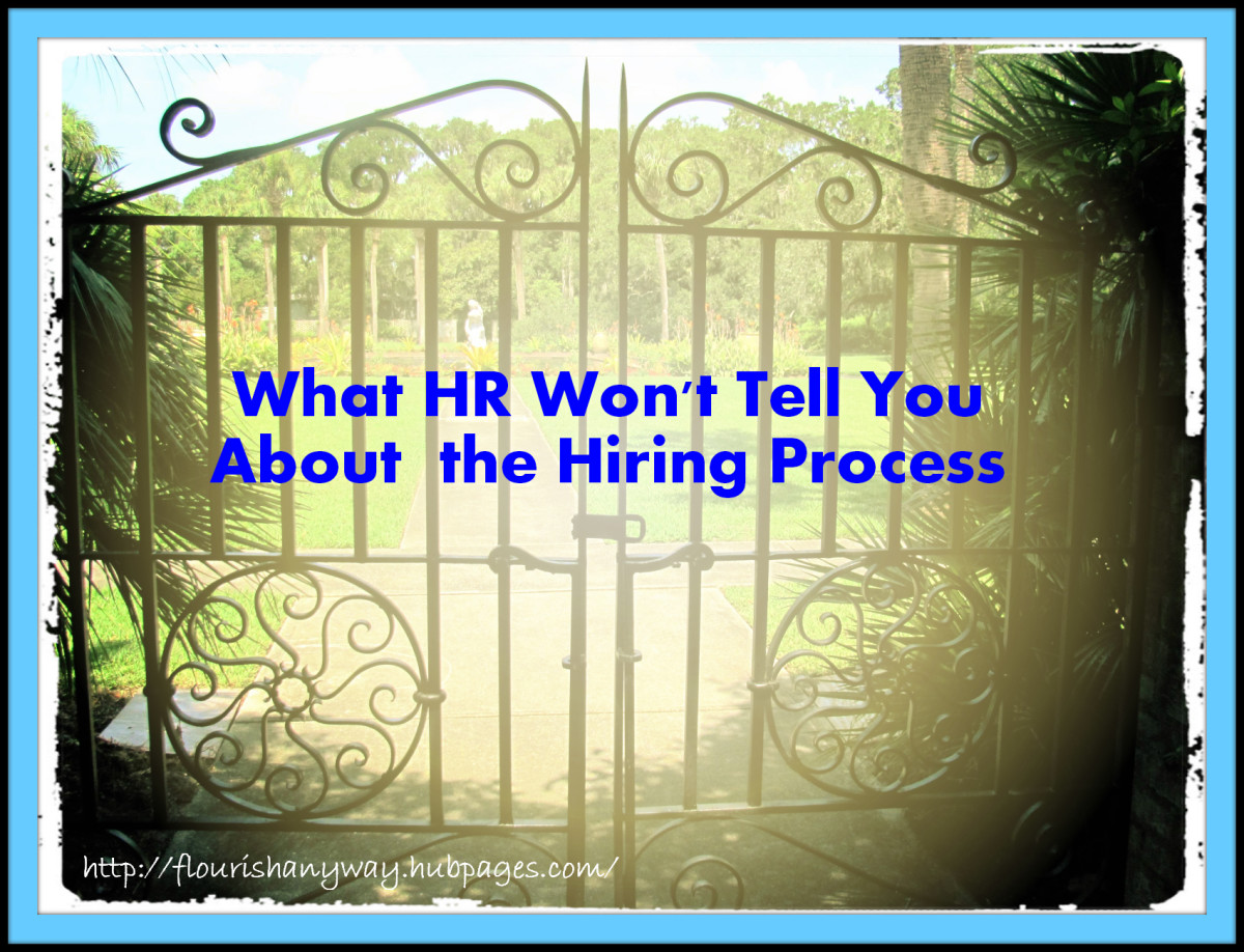 Human Resources is typically the company gatekeeper when it comes to applying for a job.  You have to get your resume through the system  to get hired.