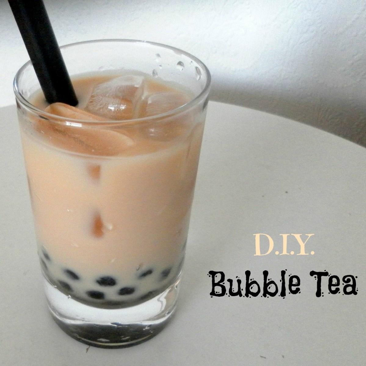 How to Make DIY Bubble Tea (Boba Tea)
