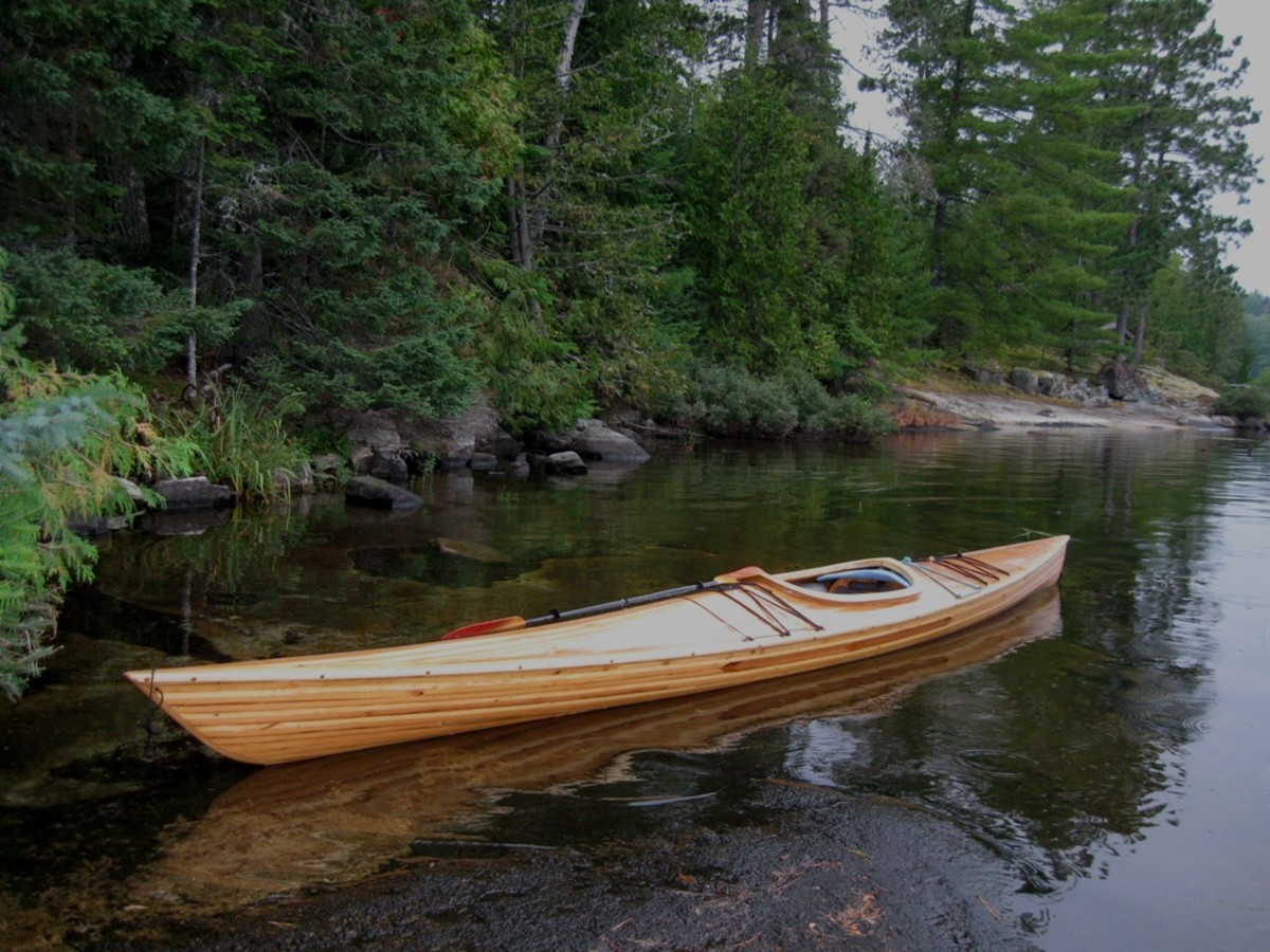 Building a Cedar Strip Kayak: The Details: Making and Setting Up the Forms