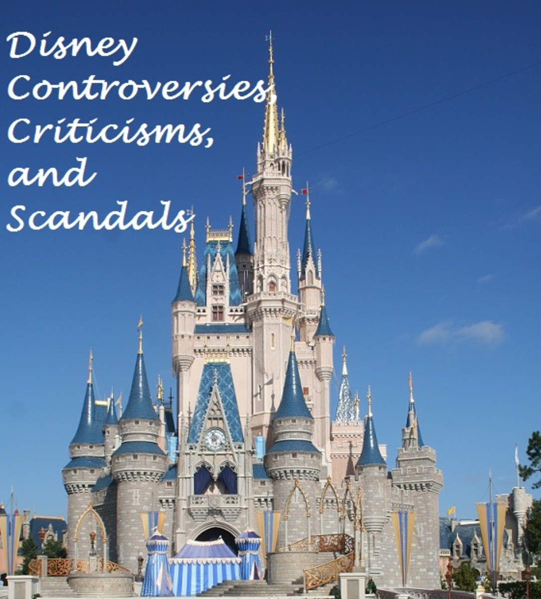What kinds of scandals and issues has Disney faced in the past few years?