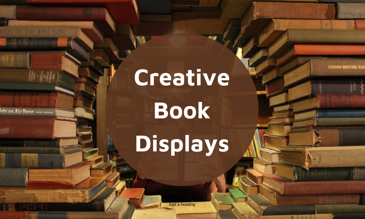 Great ideas for displays in your library or bookstore.