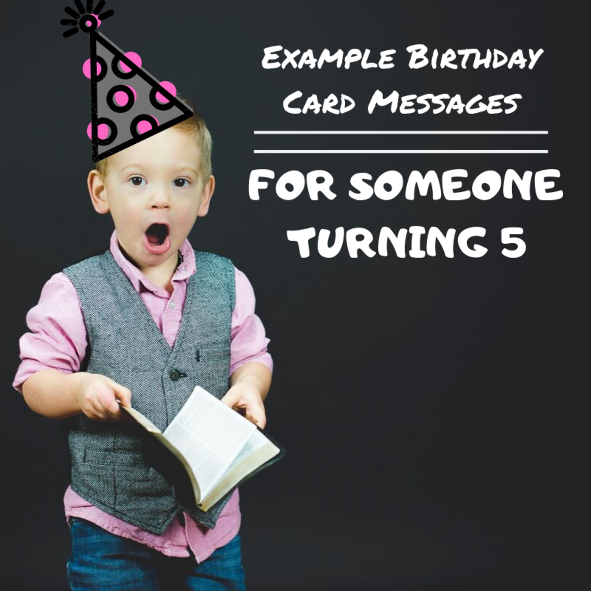Figuring out what to write in a young child's birthday card can be tricky. Use these examples to get started.