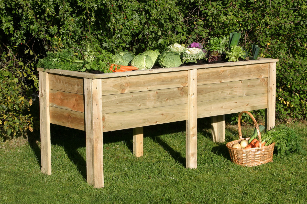 Table planter or raised bed.