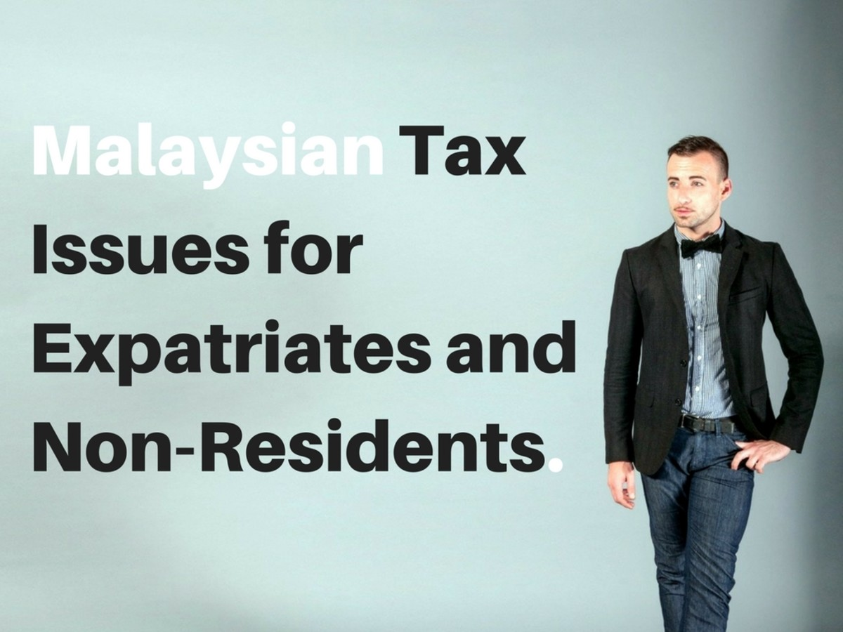 Malaysian Tax Issues for Expatriates and Non-Residents