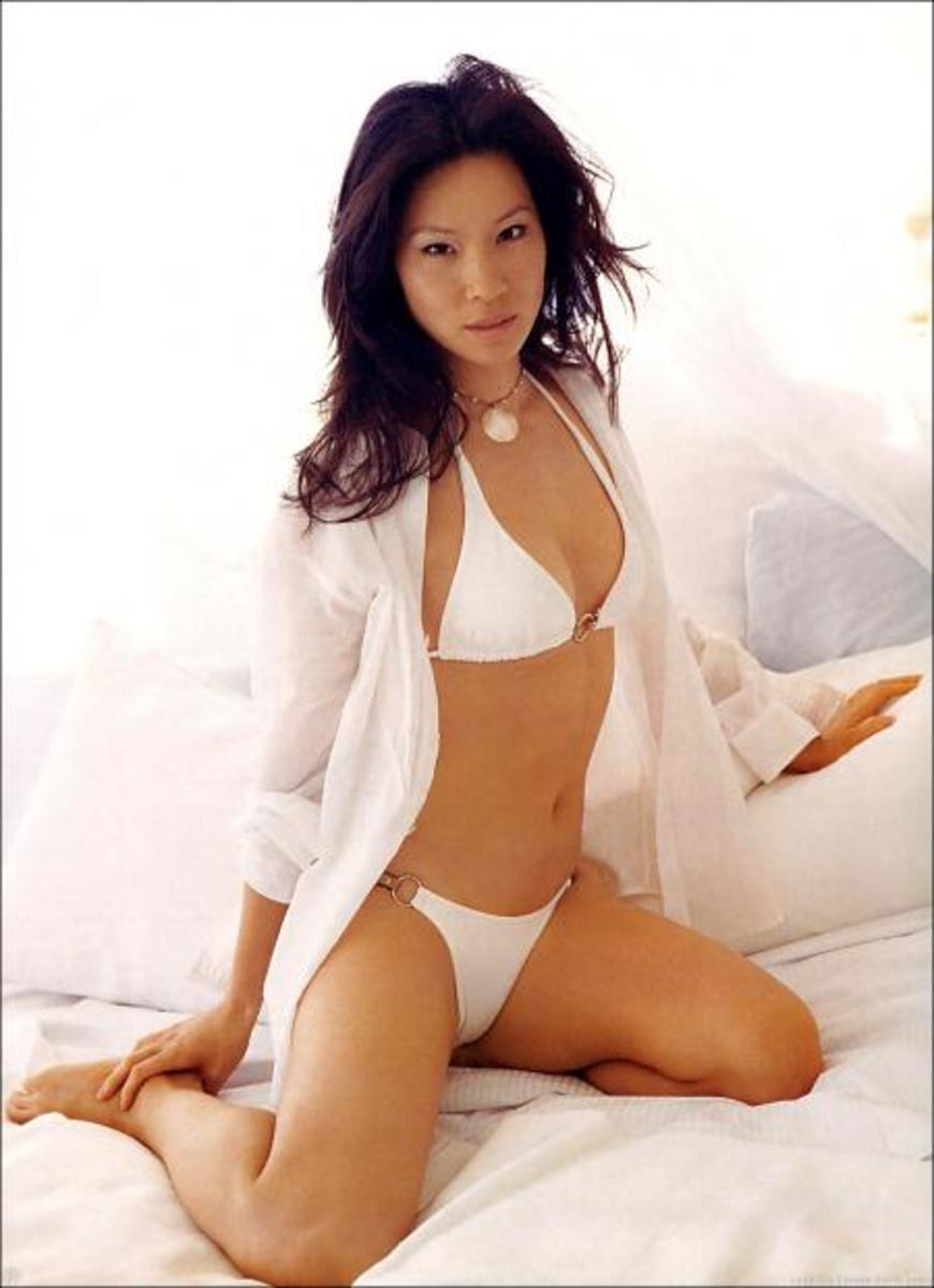 Lucy Liu from Charlie's Angels and Kill Bill fame.