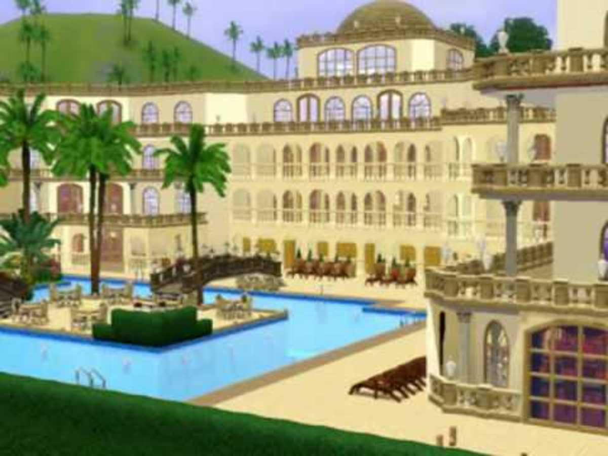 A Sims 3 Challenge: Running a Hotel
