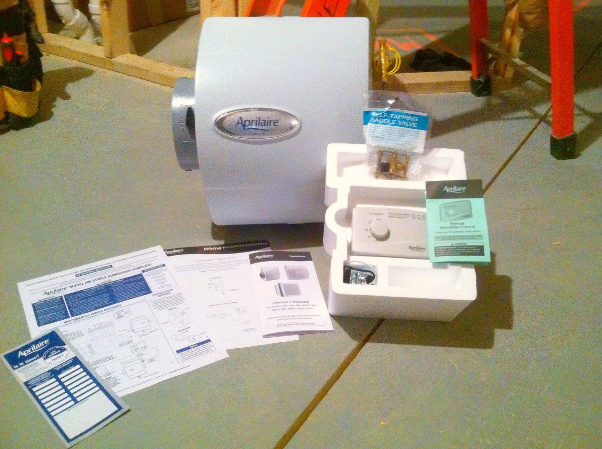 This humidifier kit gets you started but you'll still need a couple items to go with it.