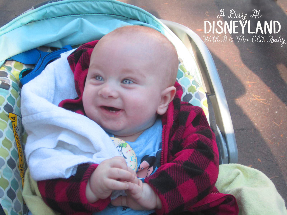 A Day At Disneyland With A 6 Month Old Baby