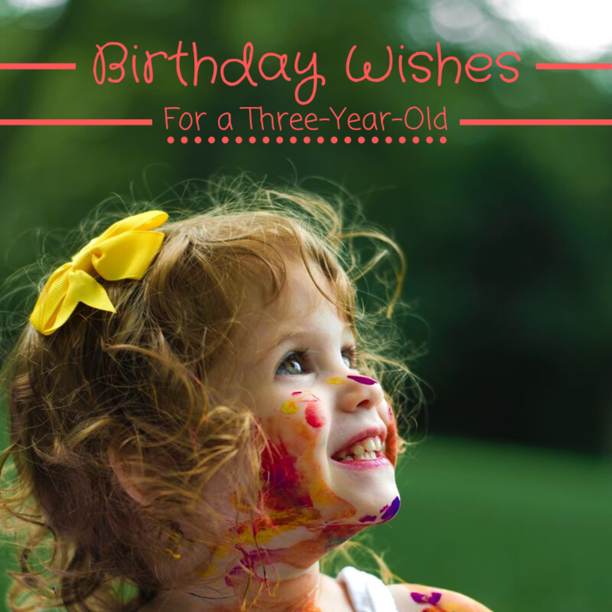 Writing a birthday card message for a three-year-old can be more difficult than it sounds. Read over these examples to get started.