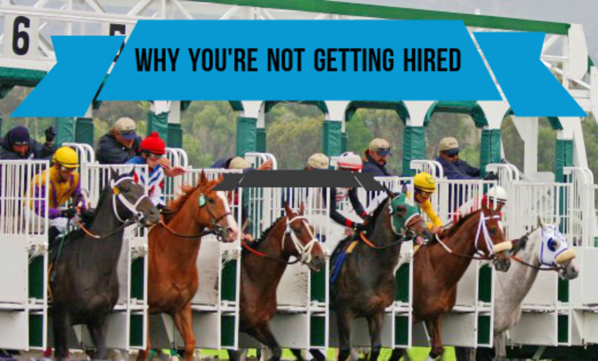 Job seeking can feel like a horse race.  Companies receive an average of 250 applications for every vacant position. Learn tips about the hiring process from an HR insider.