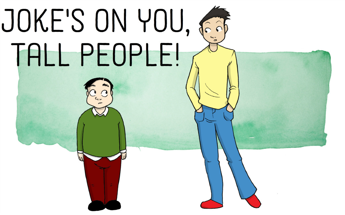 36 Funny Tall People Jokes