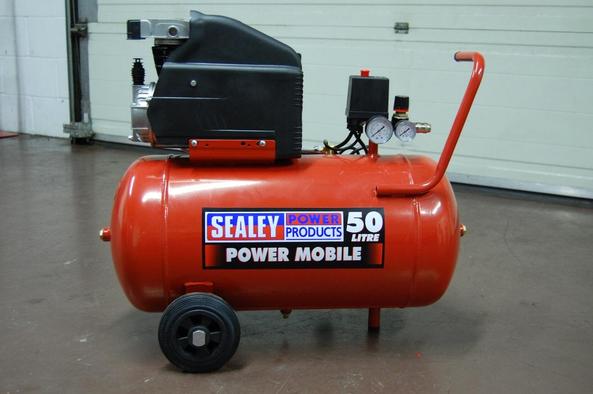 Typical air compressor