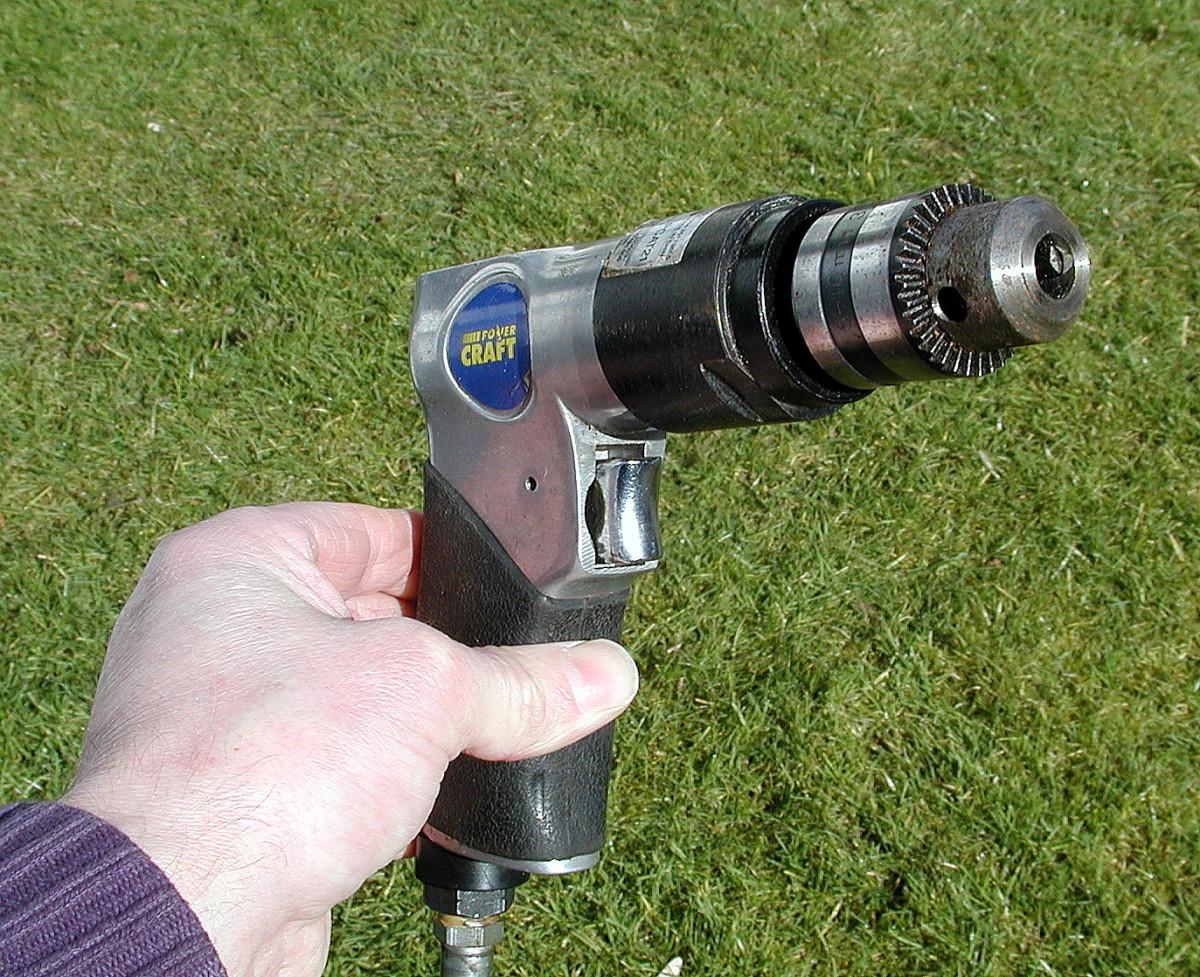Air drill.
