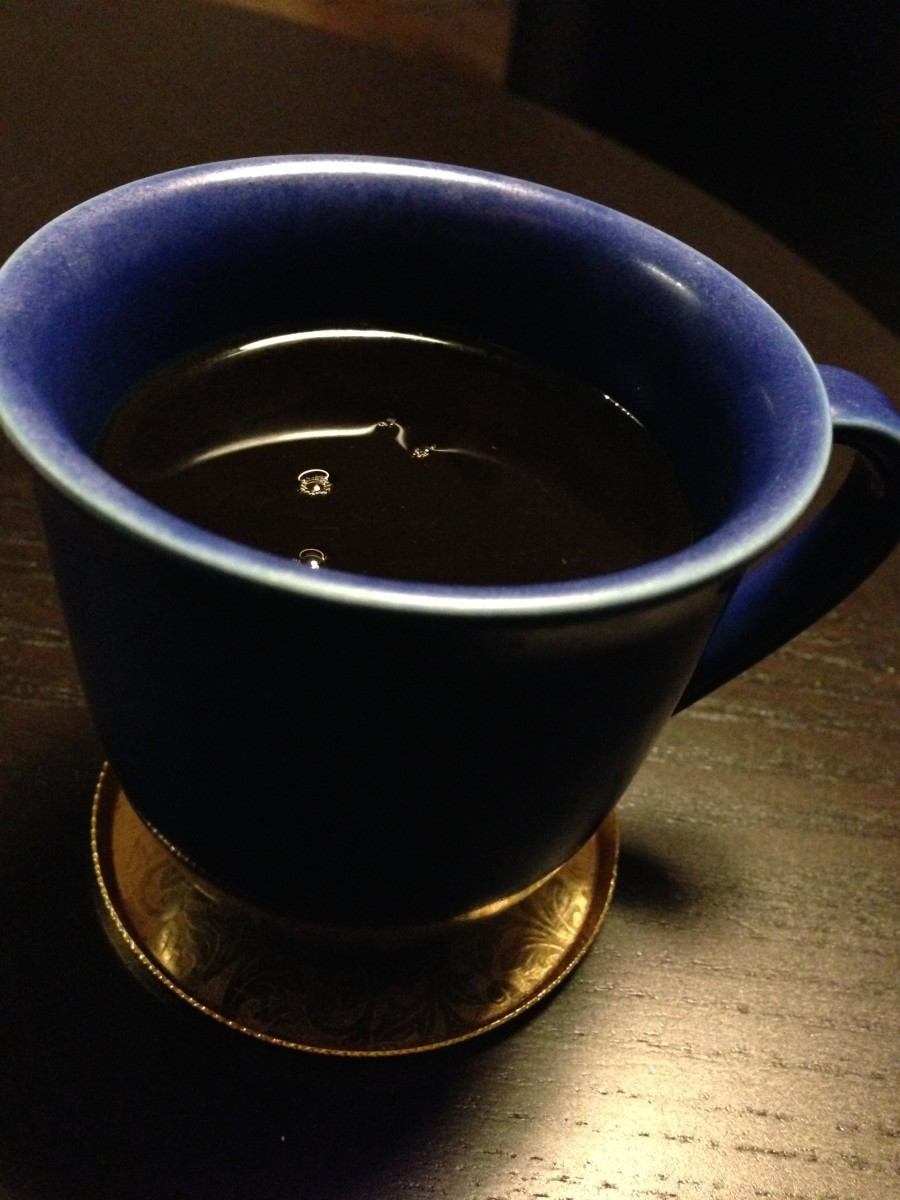 My favorite cup for strong, hot coffee!