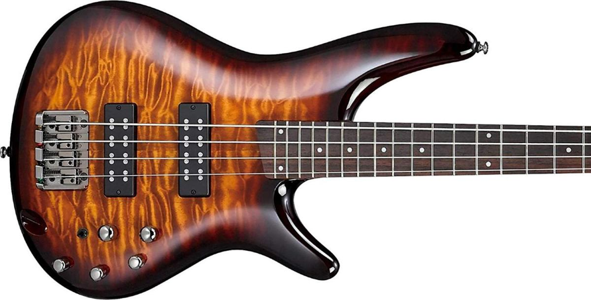 The Ibanez SR400EQM is one of the best bass guitars under $500.