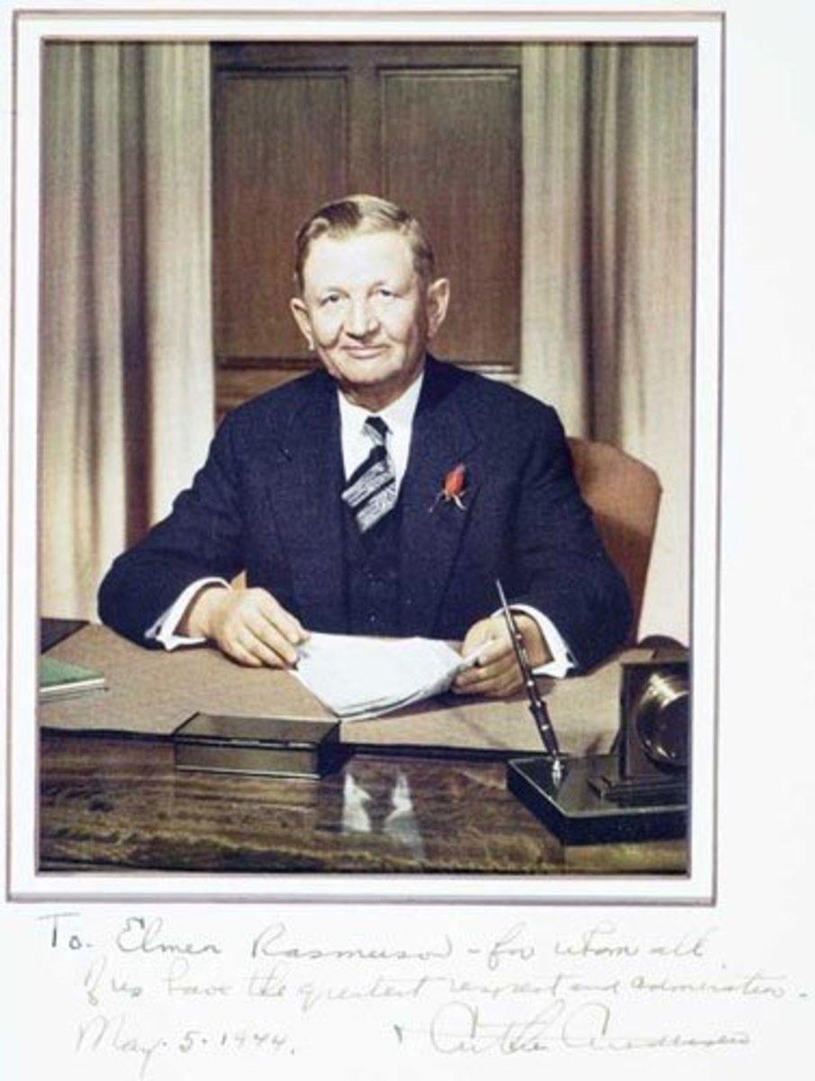 Arthur Andersen, 1944 - by exclusive permission.