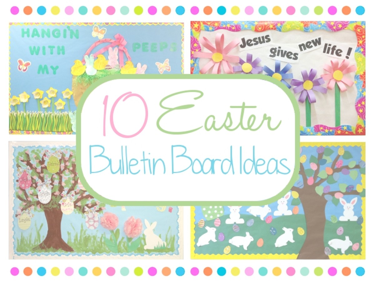 10 Easter Bulletin Board Ideas
