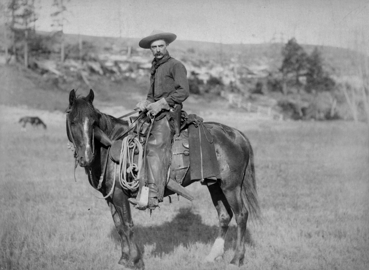 An American cowboy, a staple of the old west.