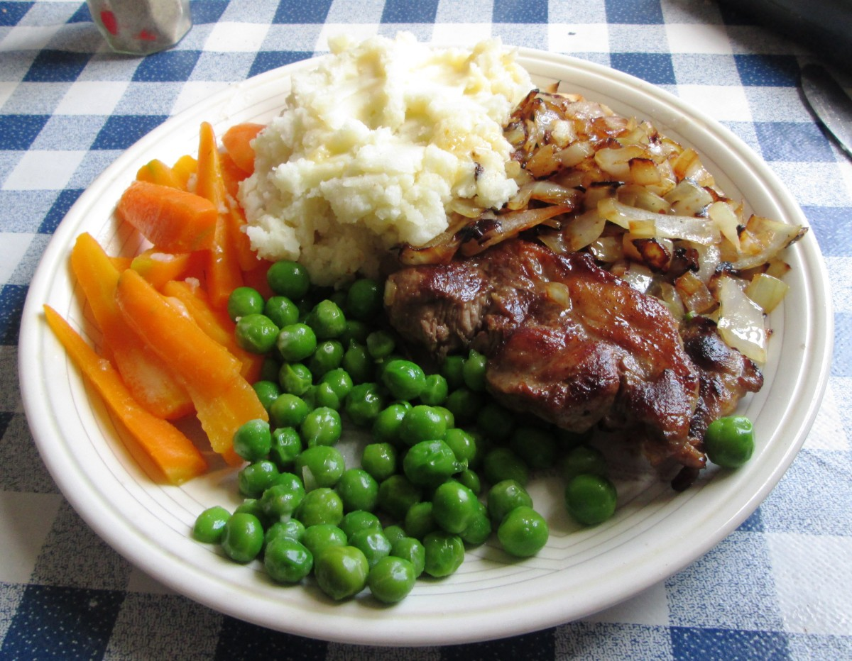 Steak and Onion Meal