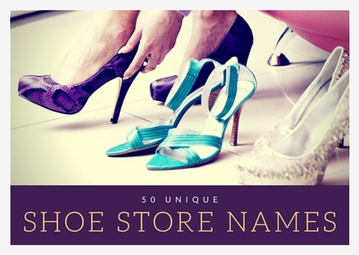 50 Unique Shoe Store Names