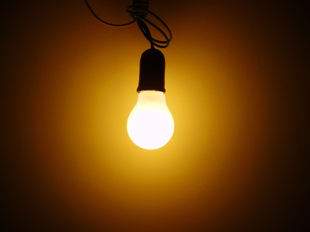The Facts About Incandescent Light Bulbs