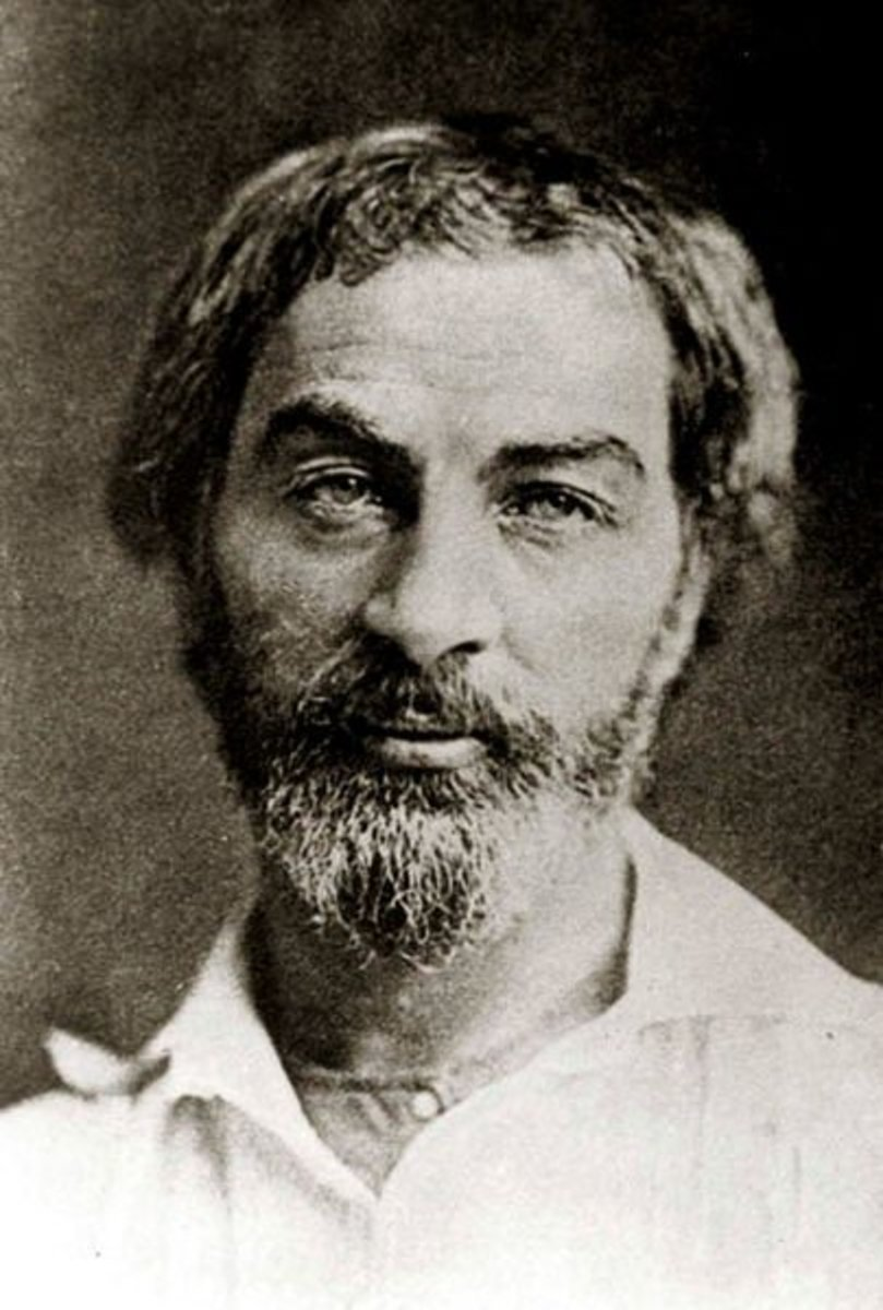 Walt Whitman in 1854/55