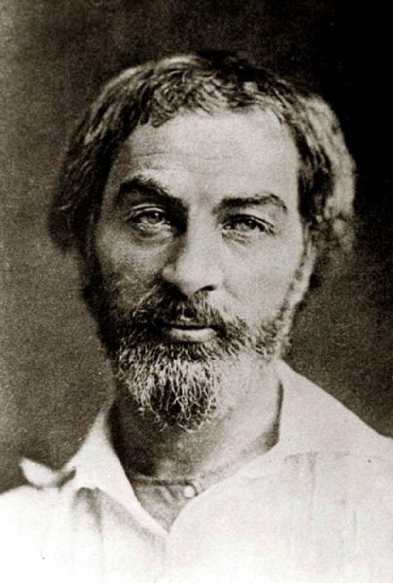Walt Whitman in 1854/55