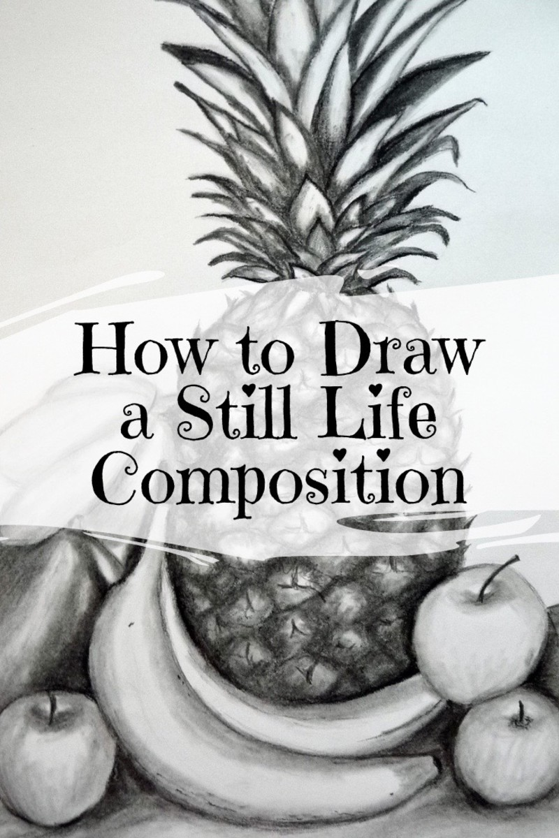Learn how to draw a still life composition from start to finish.