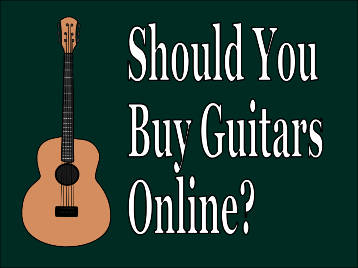 Should you get your next guitar online or from a local store?