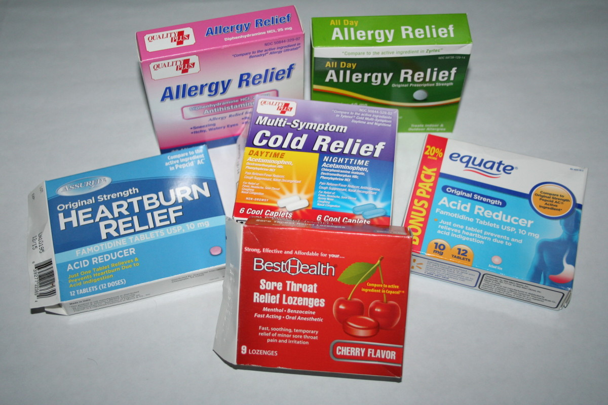 5 Generic Walmart Medications For Every Medicine Cabinet