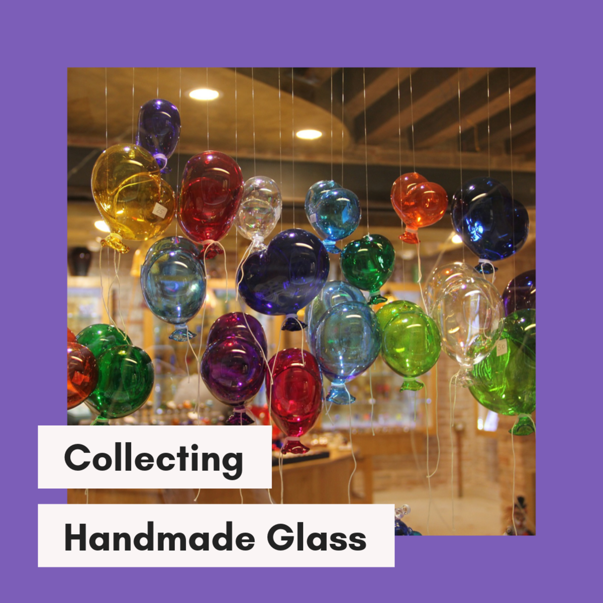 This article will break down some of the basics of how glass is blown and spun, while also taking a look at the hobby of collecting glass art.