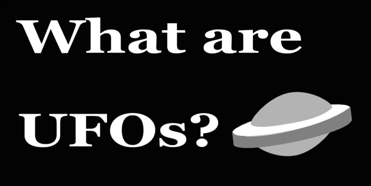 What are aliens and where do UFOs come from? More importantly, what do they want from us?