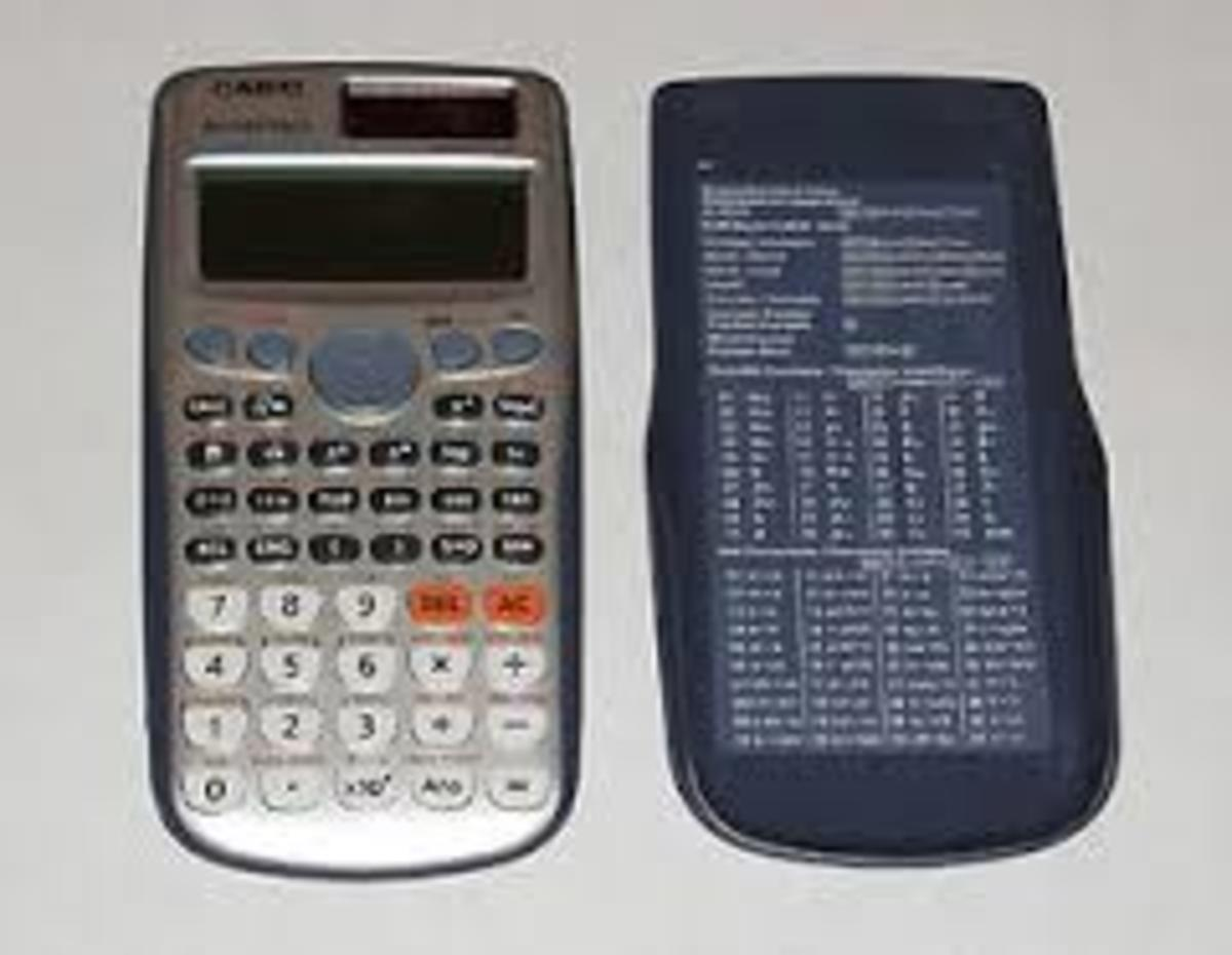Note: Under the Pearson VUE testing center rules, you cannot take your calculator cover with you into the exam.