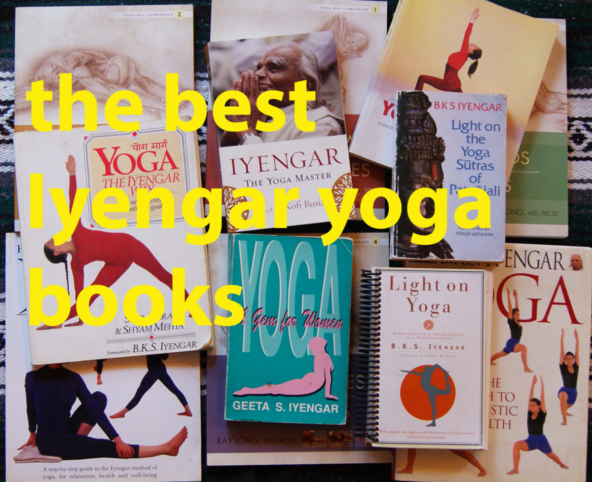 The Best Iyengar Yoga Books, DVDs and Videos