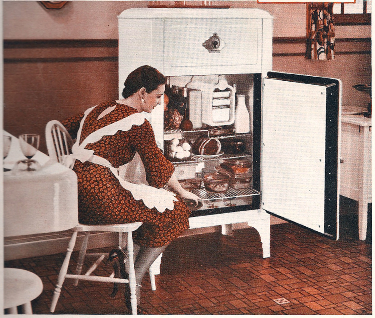 westinghouse refrigerator 1932 vintage kitchen appliances of the 1930s   dengarden  rh   dengarden com