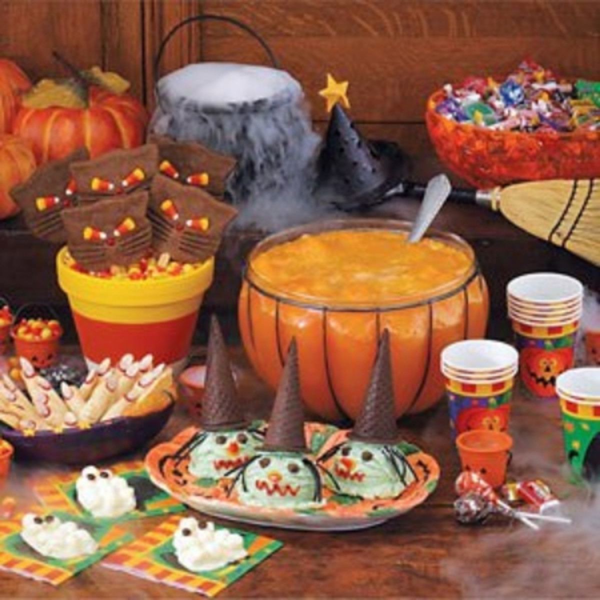 Making fun, tasty, and spooky Halloween treats together is a great way to spend time with your kids.