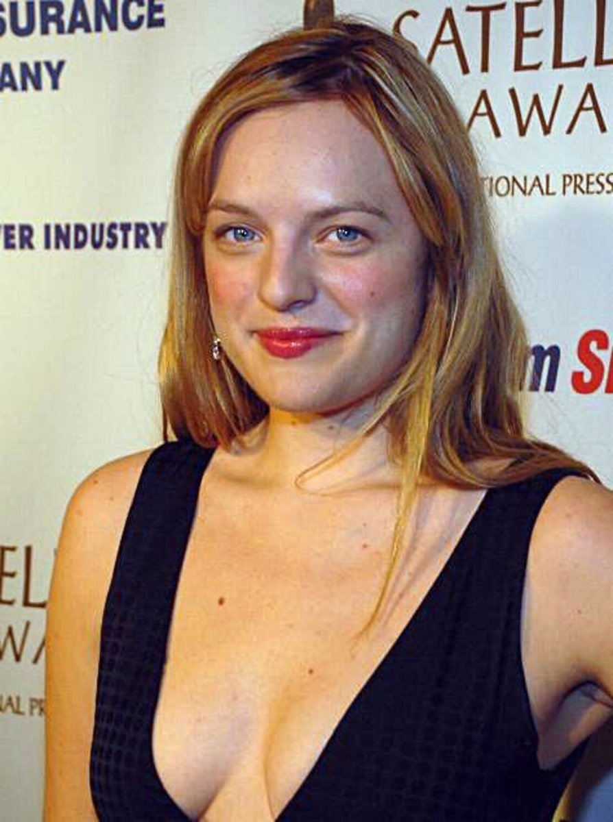 Elisabeth Moss, star of Top of the Lake
