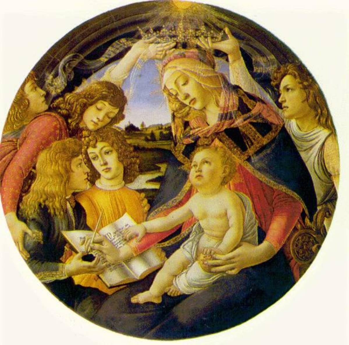 """Visual Analysis of Botticelli's """"Madonna of the Magnificat"""""""
