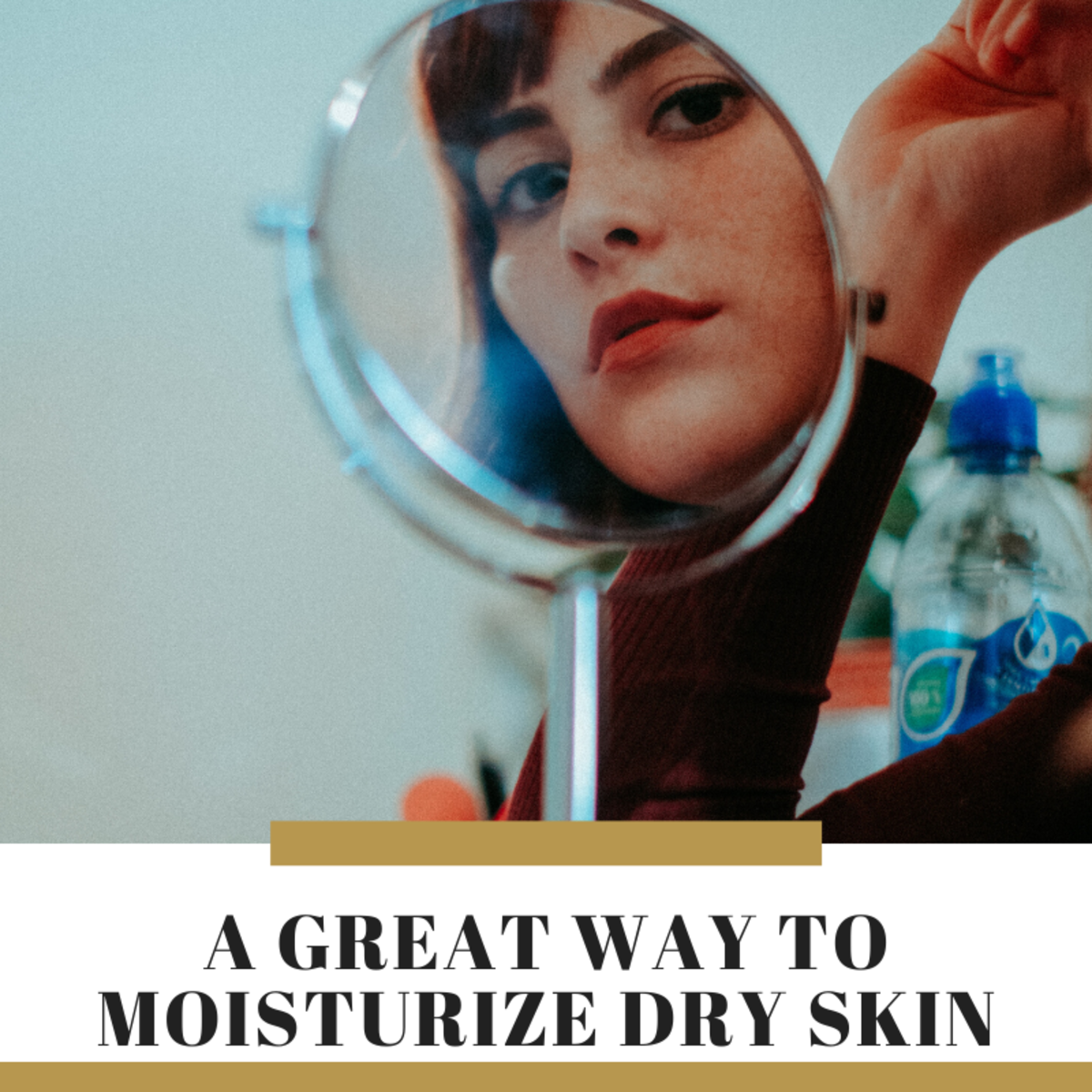Learn how to heal dry skin with this easy remedy.