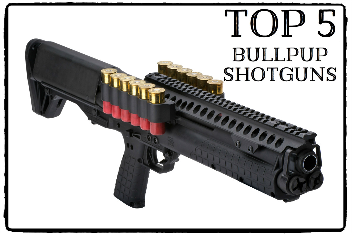 Kel-Tec Shotgun with shells carriers.