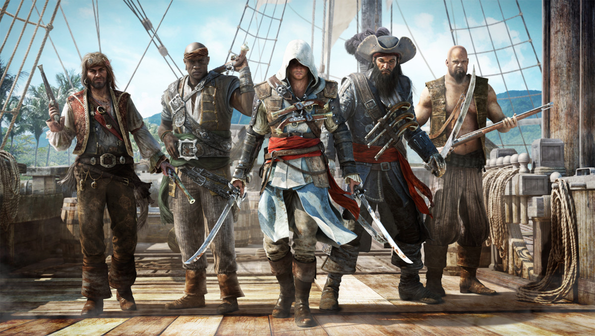 All images are from the game Assassins Creed 4: Black Flag from the game itself or the Ubisoft website.