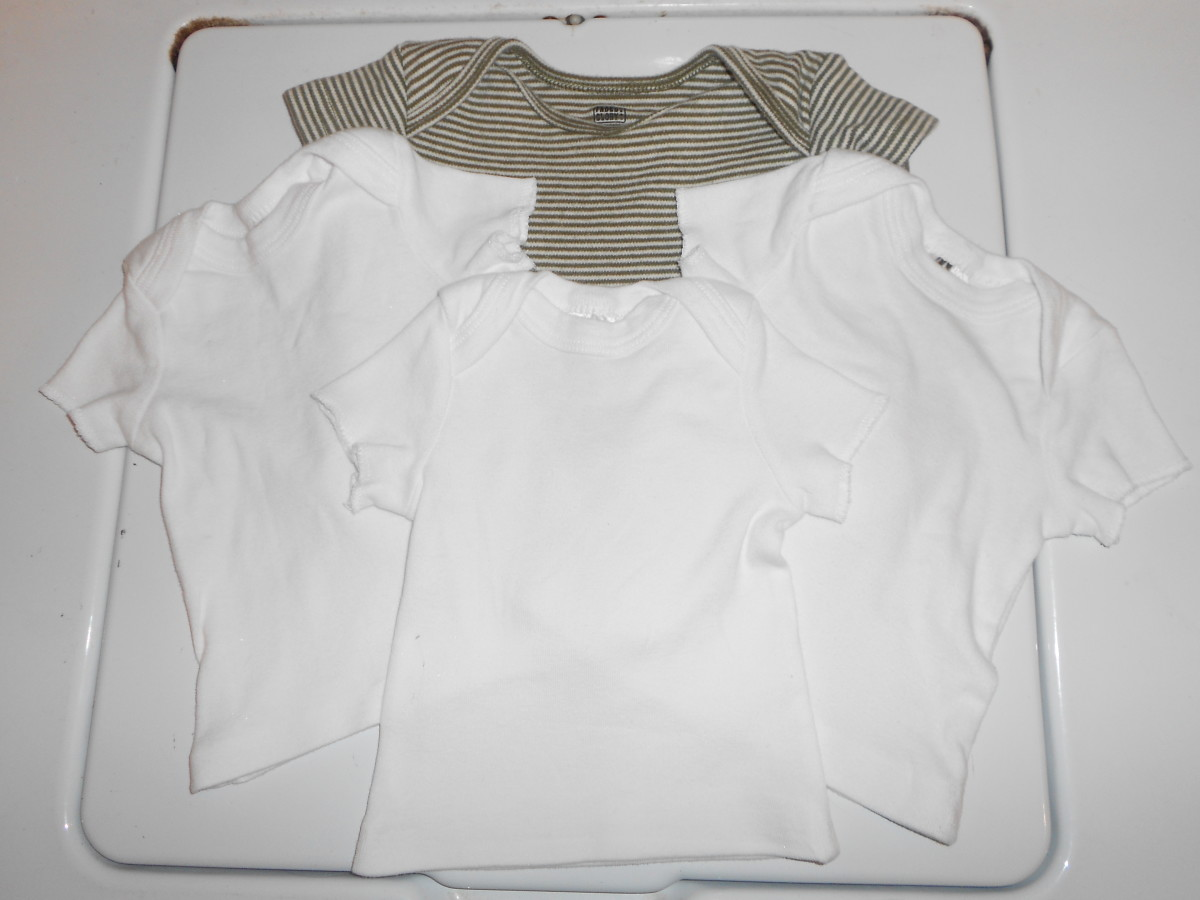DIY: Turning Onesies Into Shirts in 5 Easy Steps