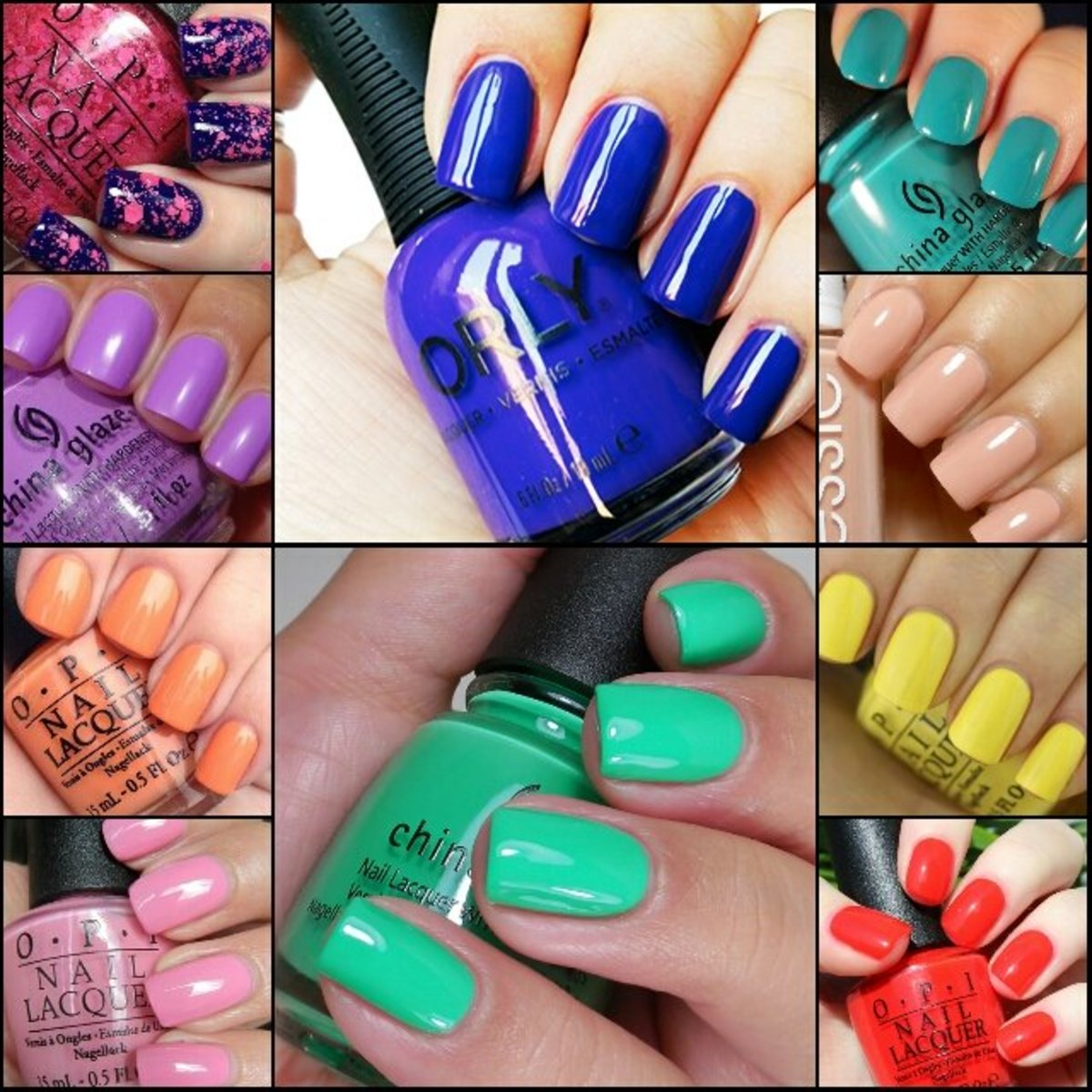 My Top 10 Favorite Nail Polish Colors
