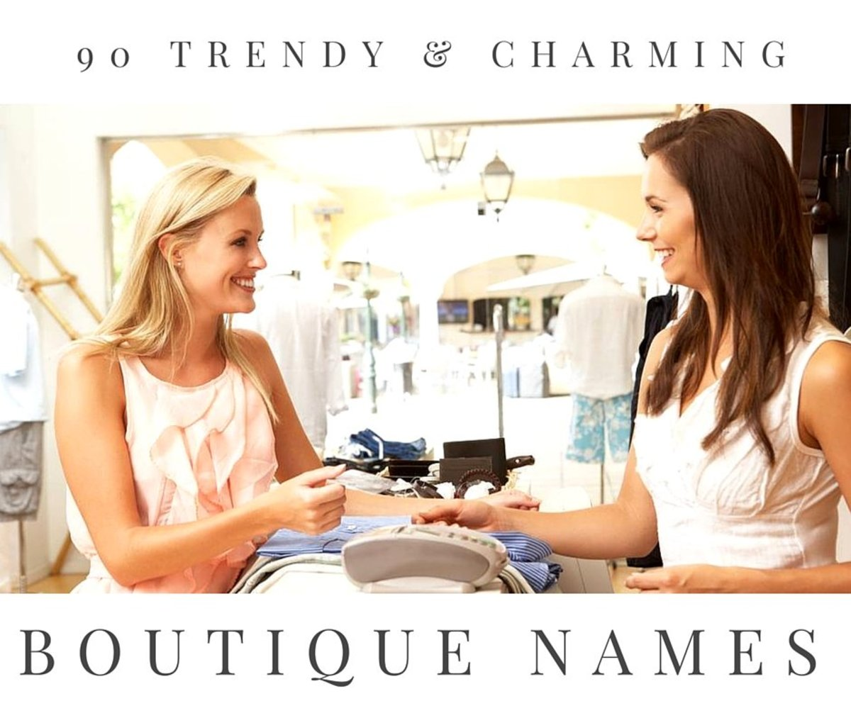 90+ Trendy and Charming Boutique Names | ToughNickel