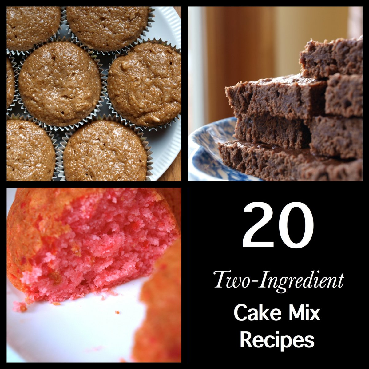 20 Two-Ingredient Cake Mix Recipes
