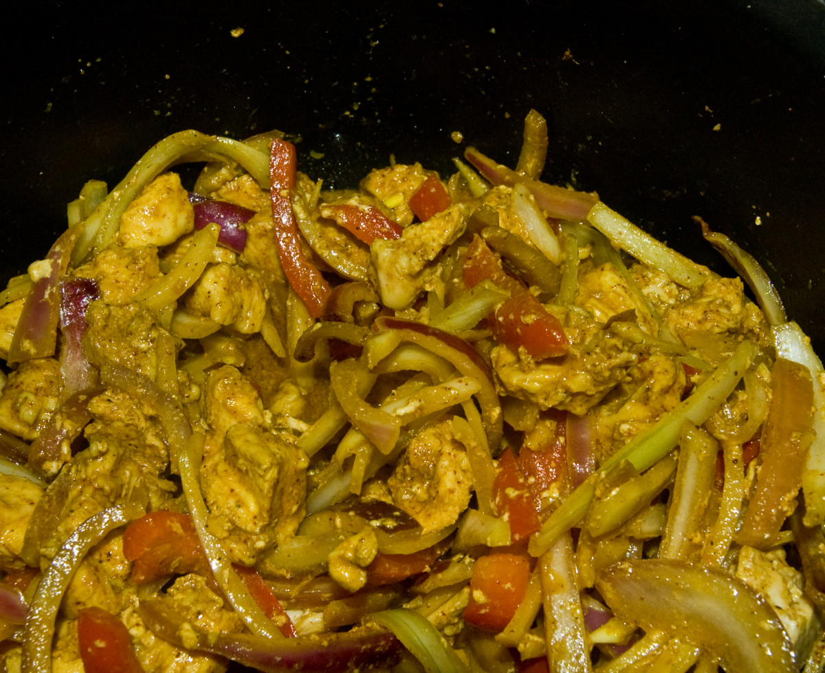 Slow-Cooker Curry Chicken